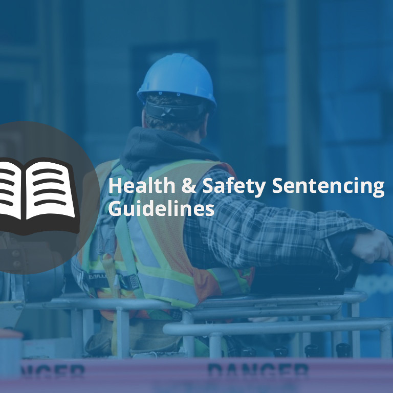health and safety sentencing guideline